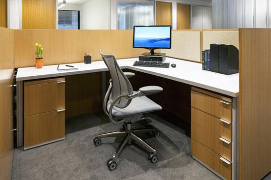 Không gian văn phòng của CCTV tại Washington